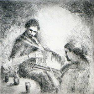 """Armelle Devillez: """"Cédric & Jørgen"""""""