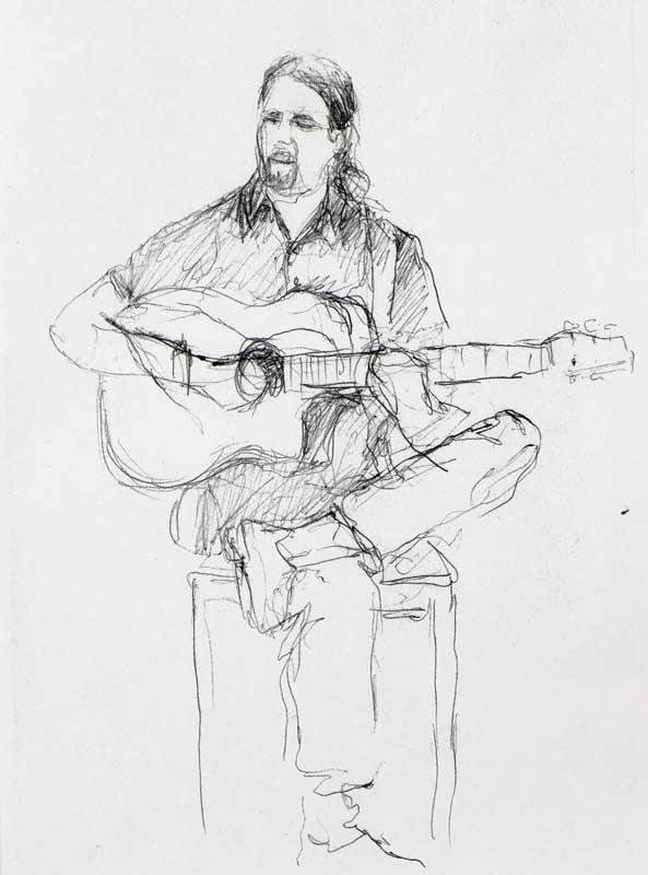 """Armelle Devillez, Zeichnung: """"'Jørgen"""""""