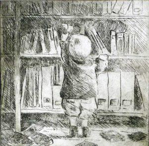 """Armelle Devillez: """"Kleiner Bibliothekar"""""""