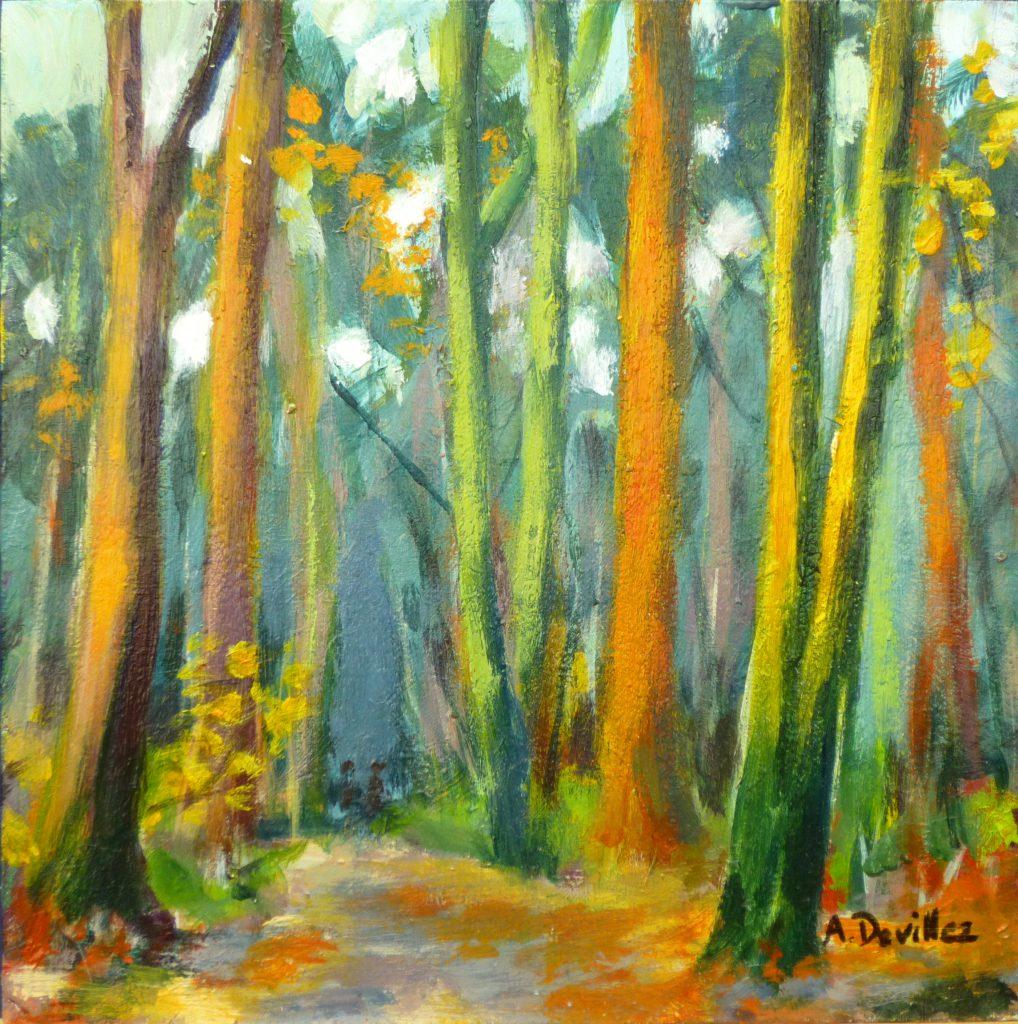 """Armelle Devillez: """"Wald im Herbst"""""""