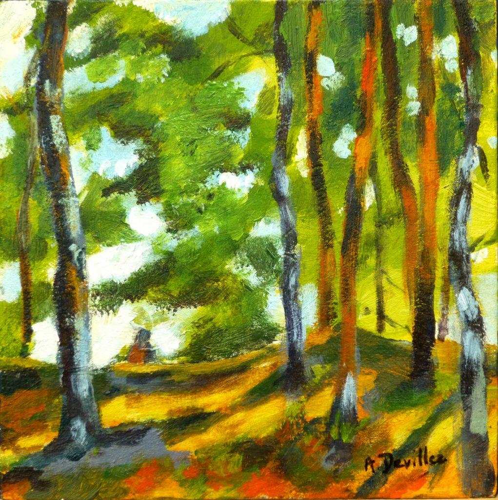 """Armelle Devillez: """"Im Wald"""""""