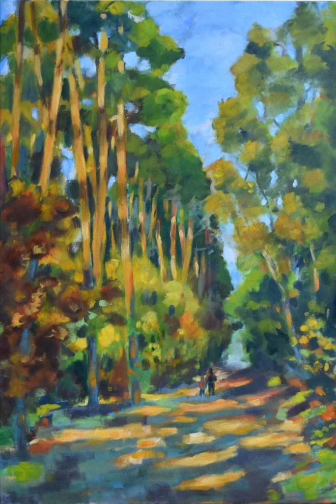 """Armelle Devillez: """"Marche en forêt"""""""
