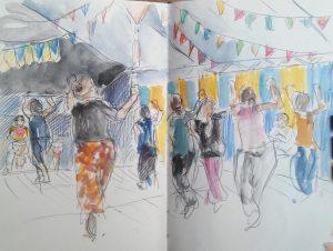 """Armelle Devillez: """"Le cours de danse africaine"""""""