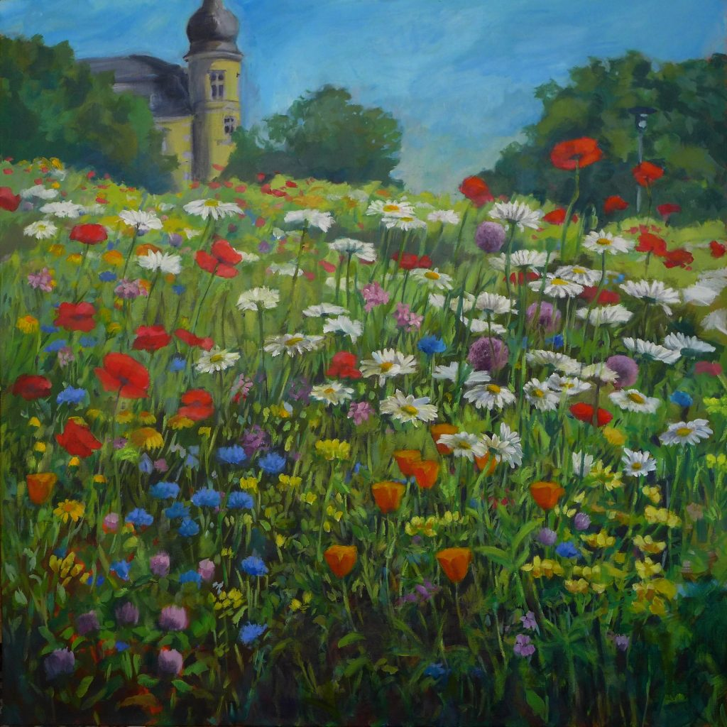 """Armelle Devillez: """"Schlossgarten, Juni"""""""