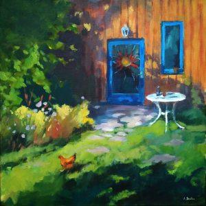"""Armelle Devillez: """"Sommer im Garten"""""""